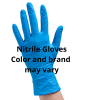 MED NITRILE GLOVES, PF, 100/BOX